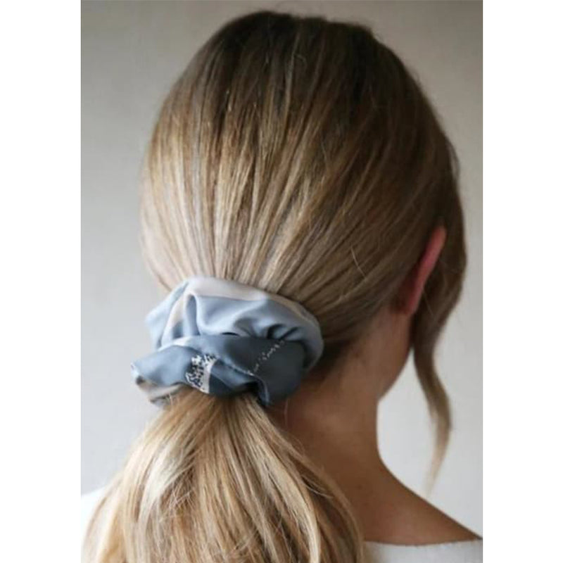 Grey Blue Tones Present Tutti & Co Hair Tie Gift