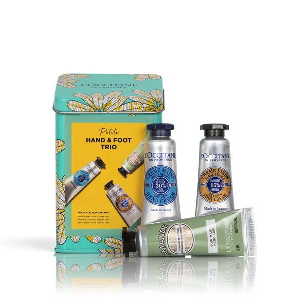 Hand and Foot Trio L'Occitane Petite Size Gift Set Shea Butter Almond