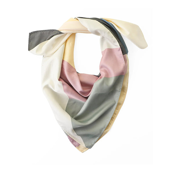 Pastel Colour Hue Square Scarf By Tutti