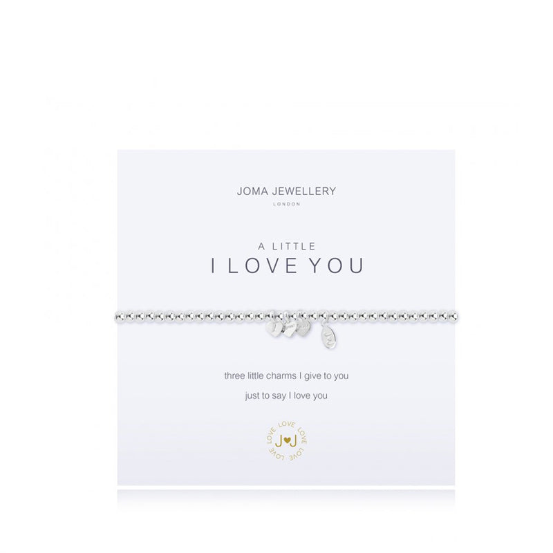 Joma A Little I Love You Bracelet In Silver