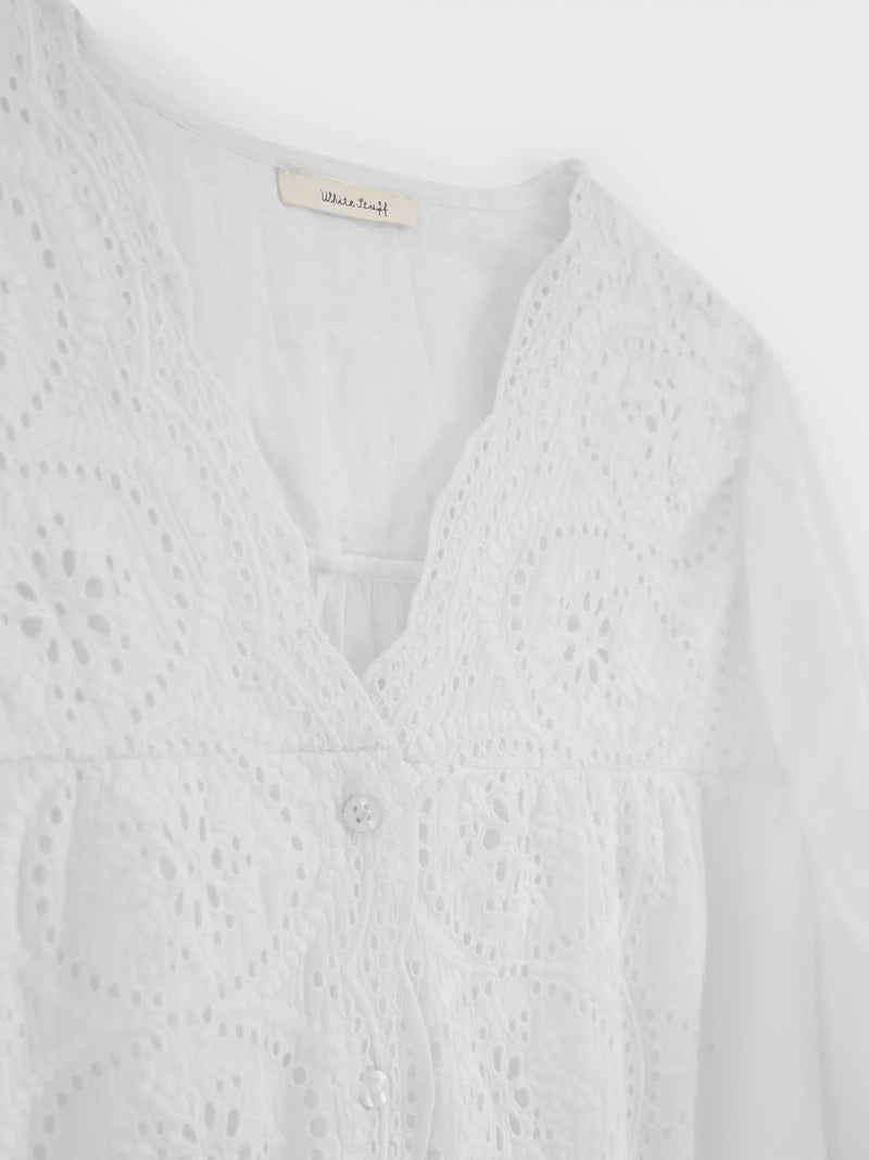 Karla Blouse from White Stuff Spring Summer 2021