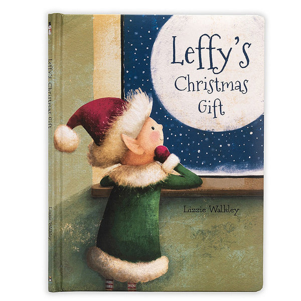 Jellycat Leffys Christmas Gift Book