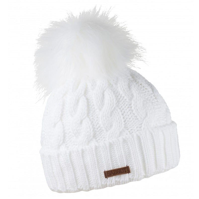 Sabbot Linda Bobble Hat In White
