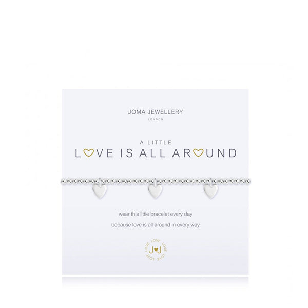 Joma A Little Love Is All Around Bracelet in Silver