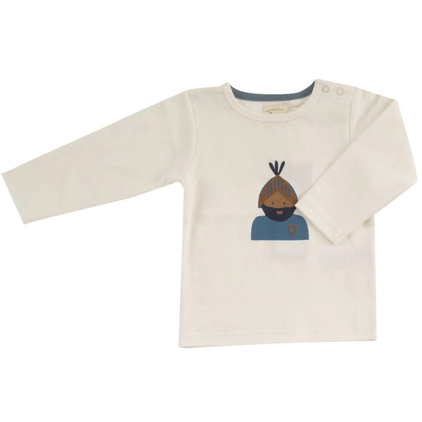 Pigeon Baby Plain T-Shirt In Knight Marlin