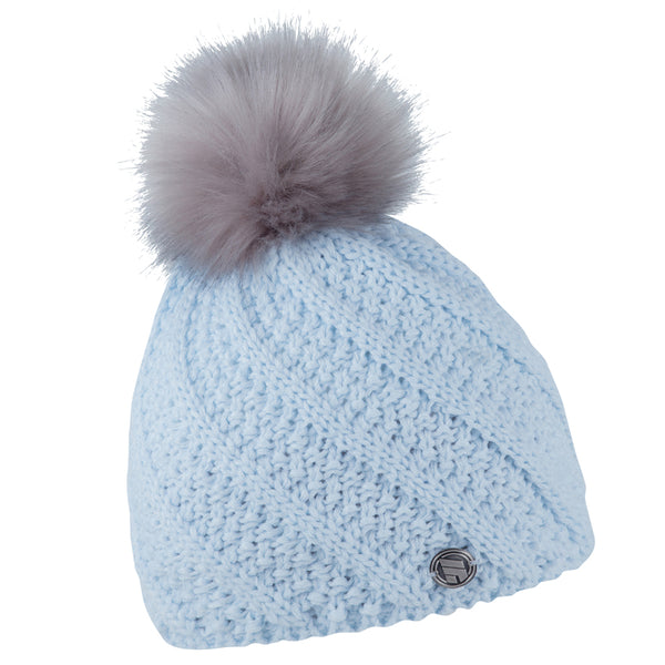 Sabbot Marta Bobble Hat In Sky Blue