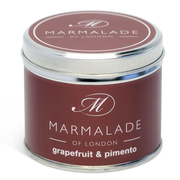Scented Grapefruit and Pimento Medium Candle Marmalade of London