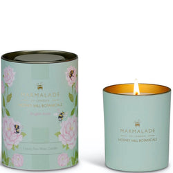 English Rose Scented Glass Jar Candle from Mosney Mill Marmalade of London