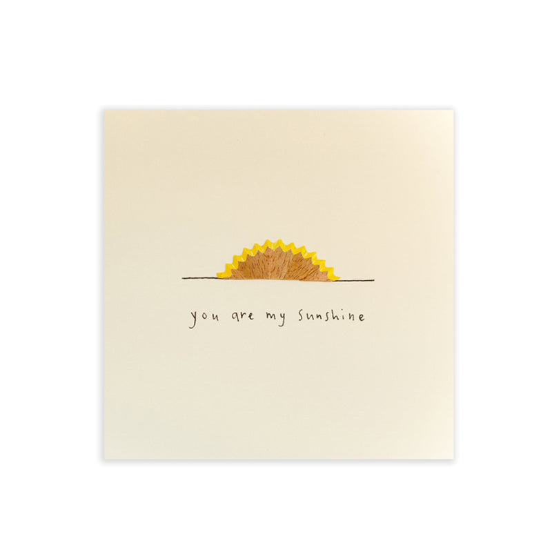 Valentine Card You Are My Sunshine By Ruth Jackson