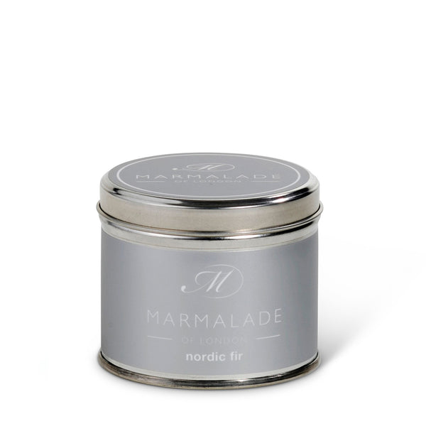 Marmalade of London Nordic Medium Tin Candle & Gift Box