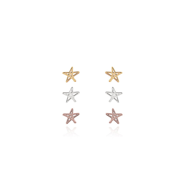 Joma Outline Star Earring Set