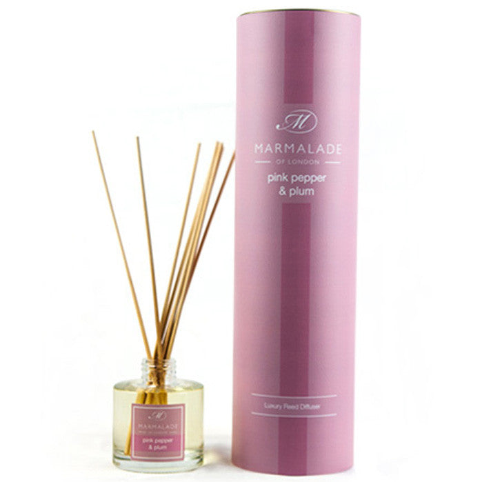 Marmalade of London Pink Pepper & Plumb Reed Diffuser & Gift Box
