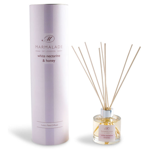 Marmalade of London White Nectarine & Honey Reed Diffuser