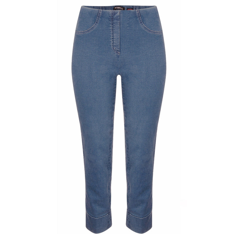 Robell 'Bella' Jeans In Denim Blue