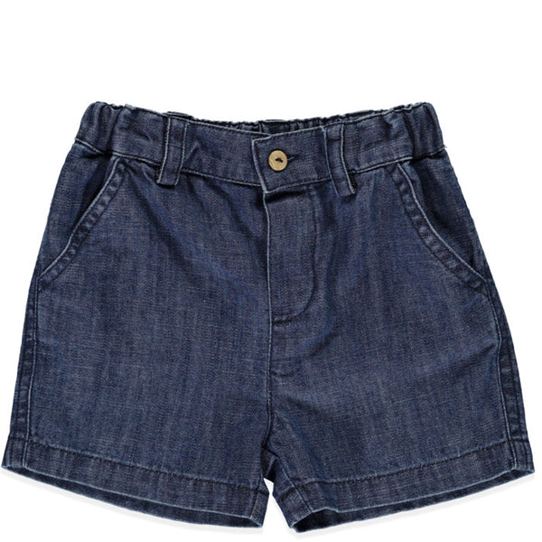 Baby Soft Denim Cotton Shorts