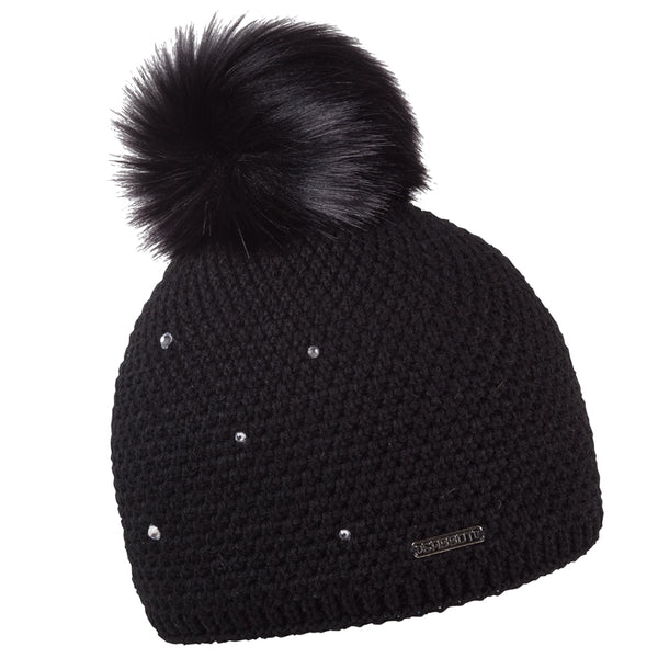 Sabbot Sigrid Bobble Hat In Black