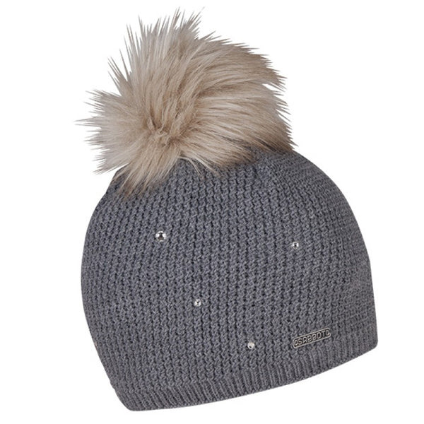 Sabbot Sigrid Bobble Hat In Grey