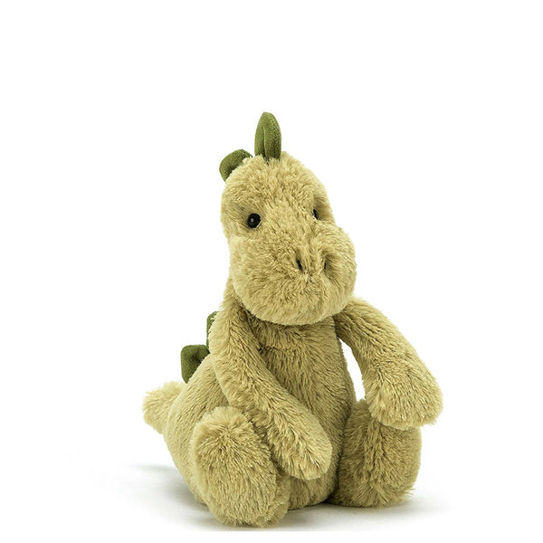 Green Cuddly Toy Dinosaur by Jellycat