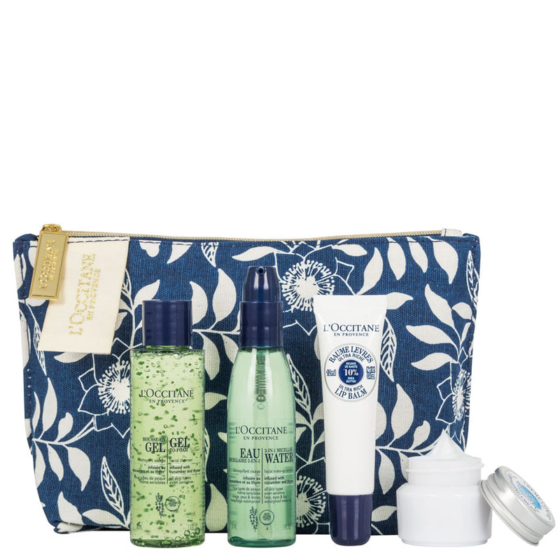 Soothing Skincare Collection Gift Set from Loccitane