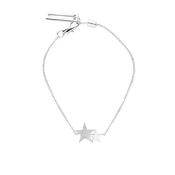 Chain Starlight Sparkle Bracelet In Silver By Tutti & Co