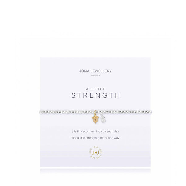 Joma A Little Strength Bracelet In Silver