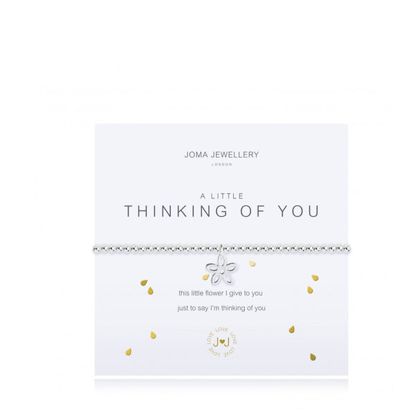 Joma A Little Thinking Of You Bracelet In Silver
