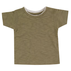 Pigeon  Organic Cotton T-Shirt In Olive