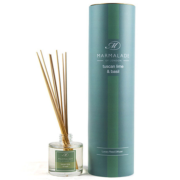 Marmalade of London Tuscan lime & Basil Reed Diffuser & Gift Box