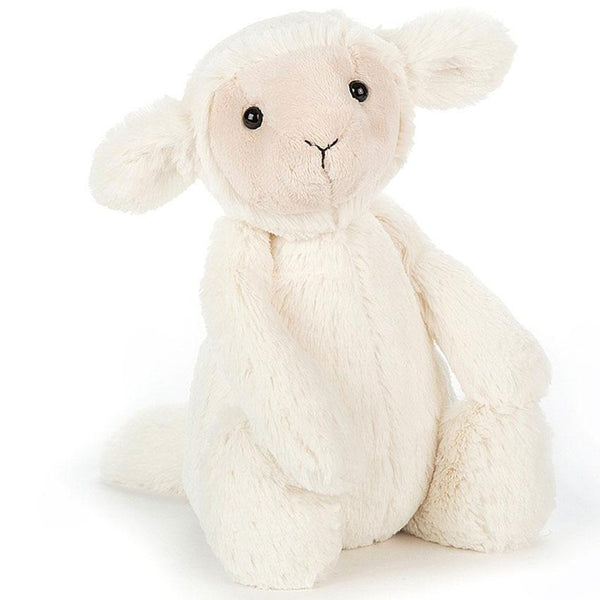 Newborn Baby Toy Bashful Lamb by Jellycat