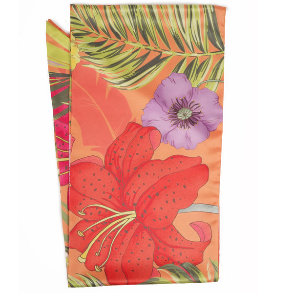 Blooming Jungle Print Scarf