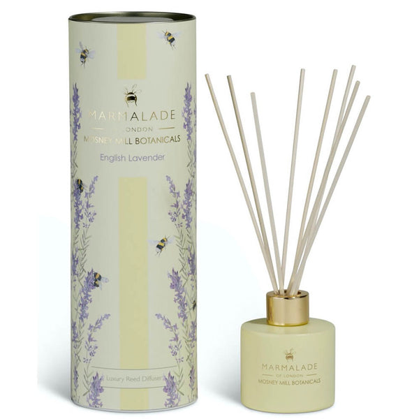 English Lavender Reed Diffuser Mosney Mill Marmalade of London