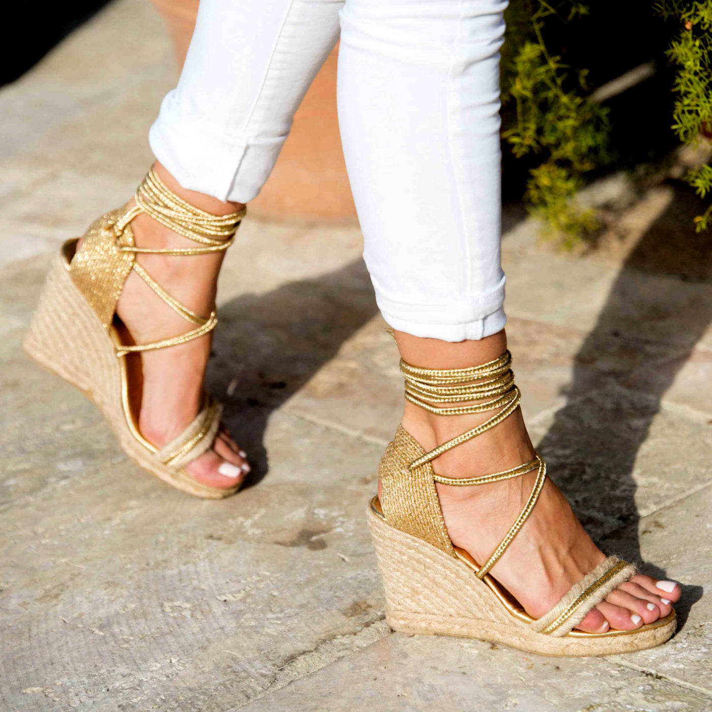 eb044cbe384dbd espadrille shoes. Boho twist to the classics. ESPADRILLE WEDGES