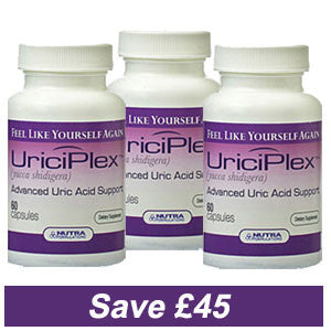 Uriciplex 3 pack - Save £45