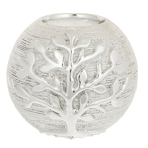 Tree of Life Tealight Ball (Champagne)
