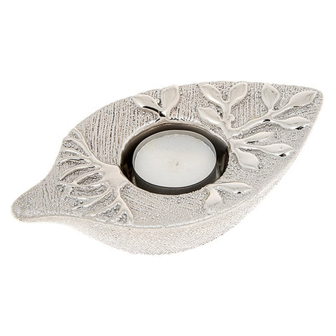 Tree of Life Tealight Leaf (Champagne)