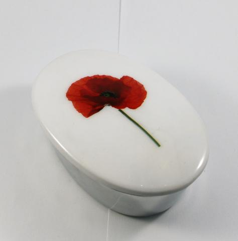 Azeti Poppy Trinket Box