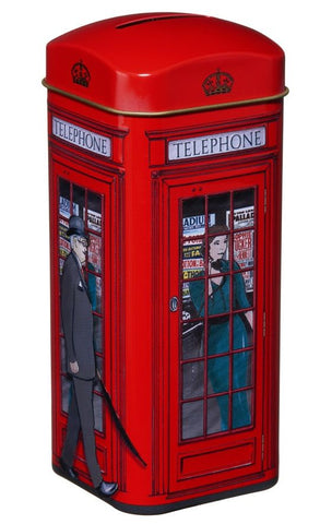 Telephone Box Money Box & Loose Leaf English Tea