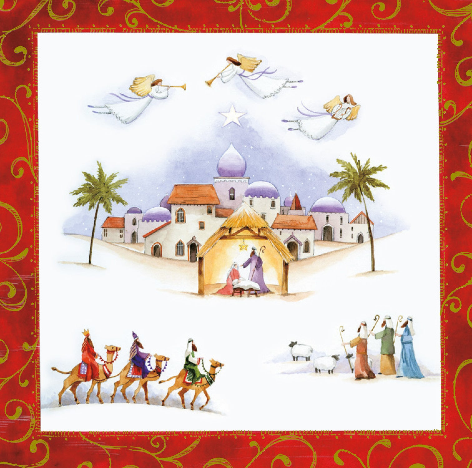 Liverpool Cathedral Christmas Cards \'Nativity\'