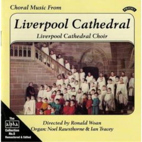 Choral music from Liverpool cathedral 1982
