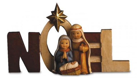 Noel Nativity Ornament