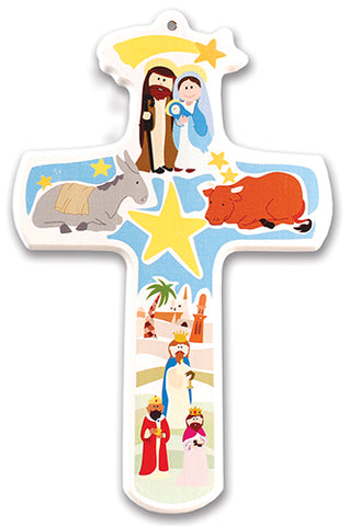 Children's Nativity Cross