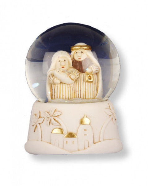 Small Waterball Nativity Ornament