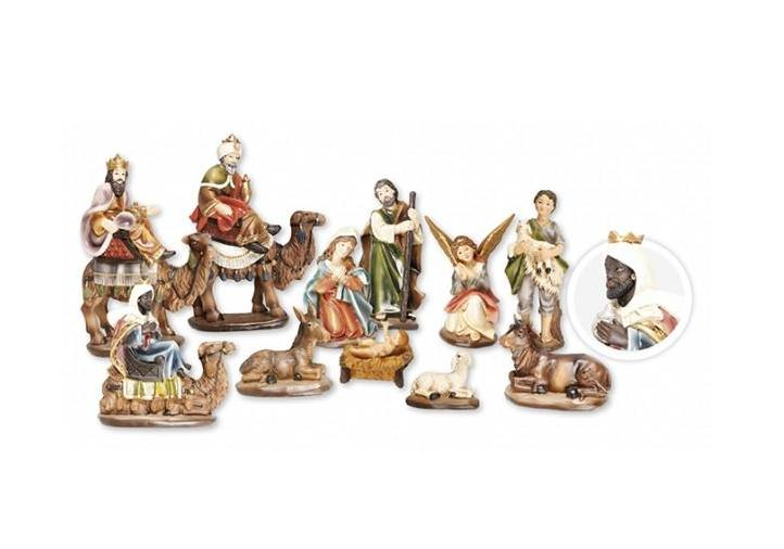 Traditional Resin Nativity Set