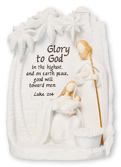 Light Up Holy Family Ornament