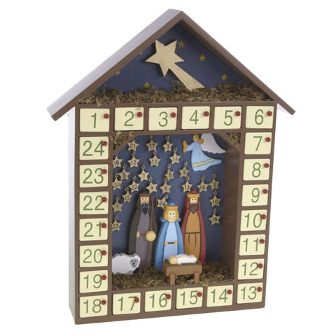 Nativity Advent With Stars