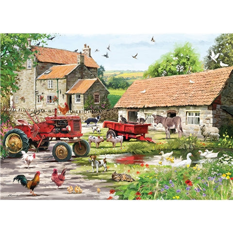 1000 piece  Jigsaw - On The Farm