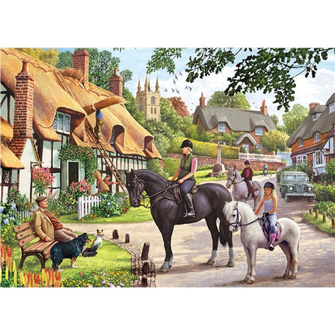 1000 piece  Jigsaw - Country Life