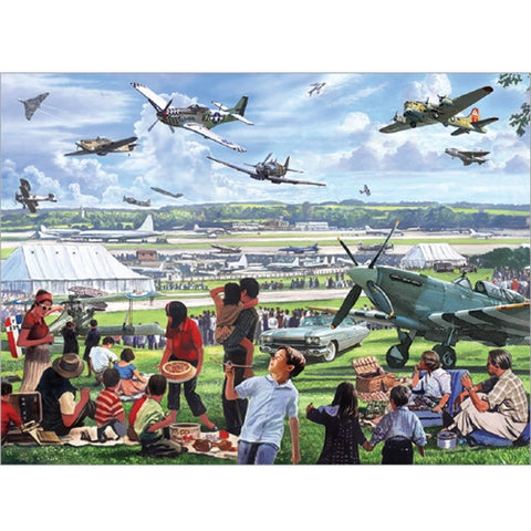 1000 piece  Jigsaw - Air Show