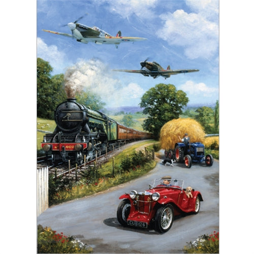 1000 piece  Jigsaw - Nostalgic Transport
