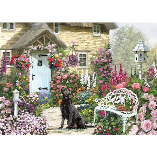 1000 piece  Jigsaw - Cottage Garden